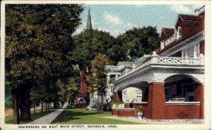 Residences on West Main Street - Norwalk, Ohio