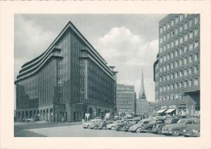 Partial Street View, Chilehaus, Sprinckenhof, Mohlenhof, HAMBURG, Germany,  1...