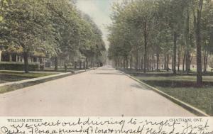 CHATHAM , Ontario , Canada , 1906 ; William Street
