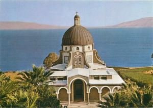 Israel Mt. of the Beatitudes and Lake of Galilee