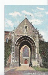 Norfolk Postcard - Gateway - Norwich Cathedral    CC376