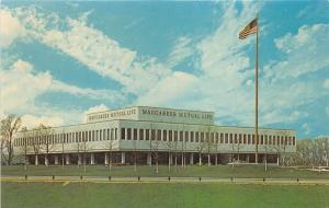Southfield Michigan~Maccabees Mutual Life Insurance Company Home Office~1950s Pc