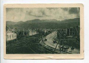 298923 USSR Tajikistan street in Stalinabad Vintage 1932 year GIZ postcard