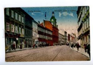 155755 CZECH PRAHA Smichav TRAM Vintage postcard
