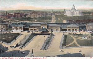 PROVIDENCE, Rhode Island; Union Station and State House, 00-10s