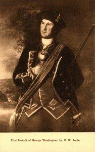 First Portrait Of George Washington By C W Peale