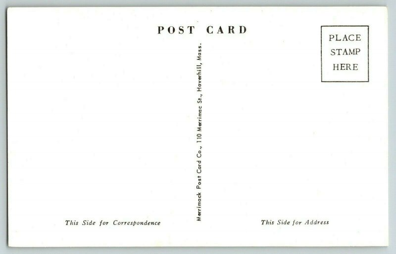Postcard Follen Community Church East Lexington Massachusetts
