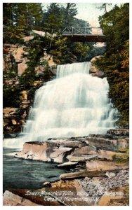 New York  Catskill Mtns. Lower Manorkill  Falls along the Schoharie