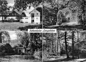 Falkenheim Langeleben, Quellhaus, Burgruine, Castle Ruins Forest Road