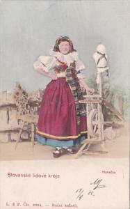 Czech Republic Slovanske lidove kroje Hanacka 1907