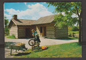 Toronto - Black Creek Pioneer Village - Old House & Spinning Wheel 1973