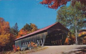 Covered Bridge Over Swift River Albany New Hampshire