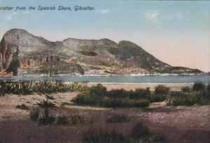 Gibraltar From The Spanish Shore