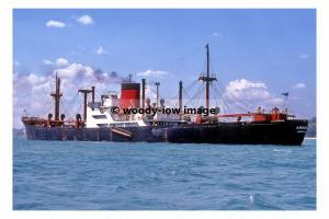mc4512 - Somali Cargo Ship - Argosy , built 1956 - photo 6x4