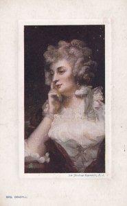 Old English Masters, Sir Josua Reynolds, R.A., Mrs. Bradyll, TUCK No. 9726,...
