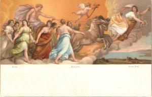 Guido Reni. Aurora. Horses  Fine painting Stengel PC # 29803