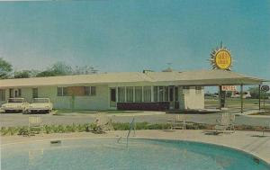 Swimming Pool & Exterior Views, MIles Motel, Augusta, Georgia, 40-60s
