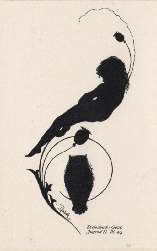 DIEFENBACH : Fantasy Silhouette , 00-10s ; Jugend II Bl.40