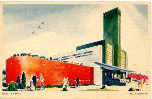 IL - Chicago. 1933 World's Fair, Century of Progress. Italian Building