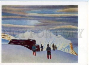 154068 North Greenland Hunter Return by Rockwell KENT Old Rus