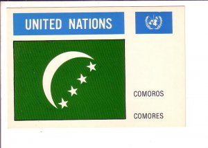 Comoros, Flag, United Nations