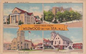 First Baptist Church Saint Simeon's Episcopal Church Greetings From Wildwood ...