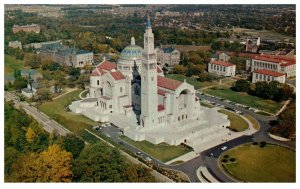 1960's National Shrine Of Immaculate Conception Washington D.C. PC1986