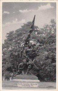Pennsylvania Gettysburg North Carolina Memorial Dexter Press
