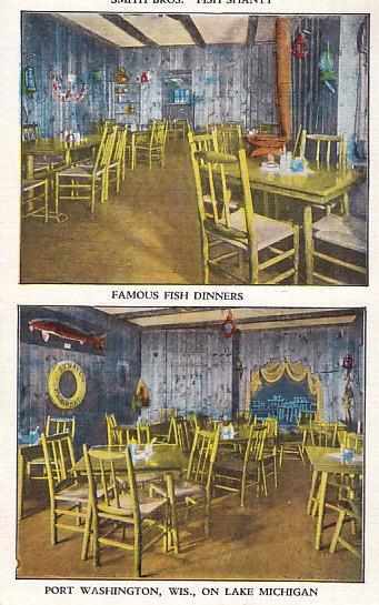 Port Washington, Wis. - Smith Bros. Fish Shanty