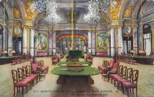 Interior- The Casino, The Schmidt Hall, Monte-Carlo, Monaco, 1900-1910s