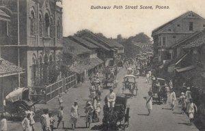 POONA , India , 00-10s ; Budhar Peth Street scene