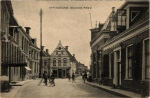 CPA APPINGEDAM Gouden pand NETHERLANDS (706301)