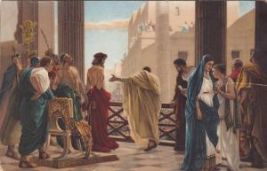 Jesus in the presence of Pontius Pilate & Roman Guards, 00-10s