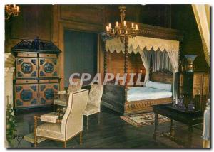 Postcard Modern Pau Pyrenees Atlantiques Chateau Bedroom Queen Marie Amelie