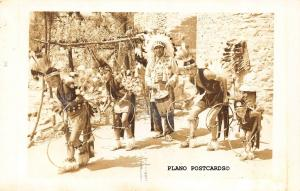 MANITOU SPRINGS, COLORADO INDIAN DANCE, 1950 RPPC REAL PHOTO POSTCARD