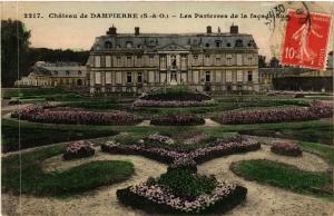 CPA Chateau de DAMPIERRE (S-&-O) - Les Parterres de la facade Sud (453232)