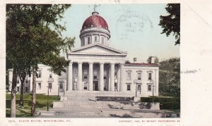 MONTPELIER, Vermont, PU-1905; State House