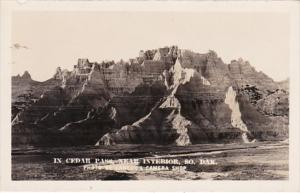 South Dakota In Cedar Pass Near Interior Real Photo