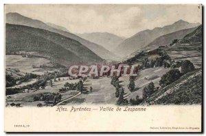 Old Postcard Vallee de Lesponne