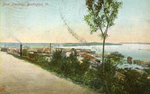 VT - Burlington. Lake Champlain Boat Landing