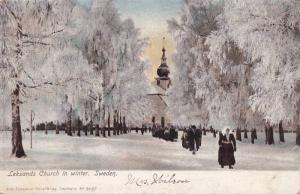 Leksands Church in Winter , Sweden. 00-10s
