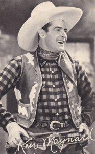 KEN MAYNAERD, In movie scene, Signature, Universal Studios, 1920-40s
