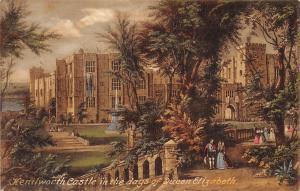 England Kenilworth Castle in the days of Queen Elizabeth, Peacock Series