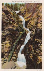 Colorado Cheyenne Canon Seven Falls