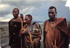 BR25435 Eleveurs de Betail sur les hauts plateaux Afrique orientale  kenya