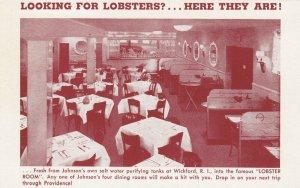 PROVIDENCE , R.I. , 1910s ; Johnson's Hummocks Sea Food Grill ; #3