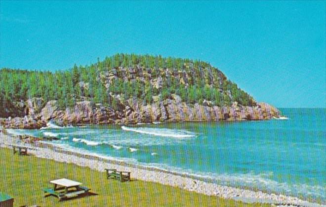Canada Black Brook Ingonish On Cabot Trail Cape Breton Nova Scotia