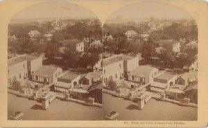 SV ; JACKSONVILLE , Florida , 1880-90s ; Birdseye view