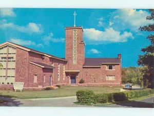 Unused Pre-1980 CHURCH SCENE Wakefield Massachusetts MA hs6912