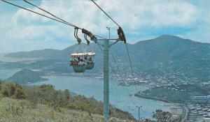 Aerial Tramway , St Thomas , Virgin Islands , USA , 40-60s